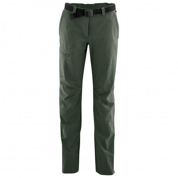 Maier Sports - Womens Inara Slim - Walking Trousers Size 40 - Regular  Black/olive/grey