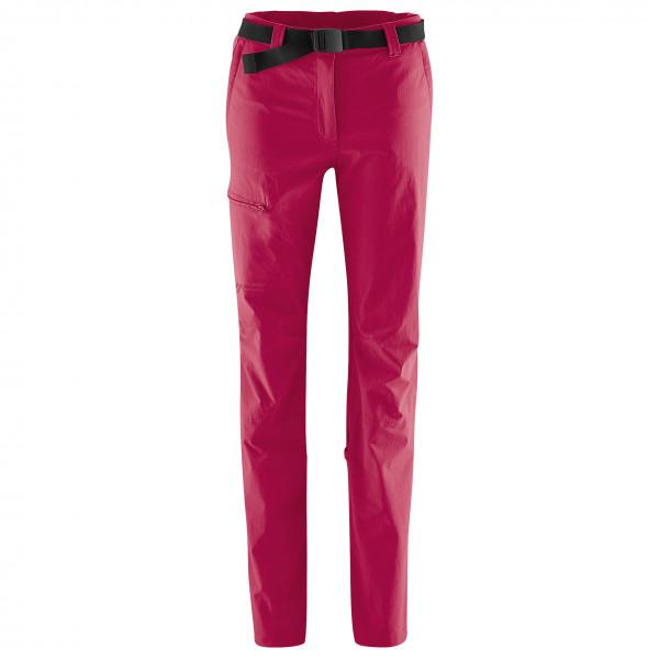 Maier Sports - Womens Lulaka - Walking Trousers Size 44 - Regular  Pink/red