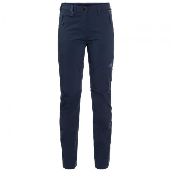 Jack Wolfskin - Womens Activate Light Pants - Walking Trousers Size 44  Black/blue