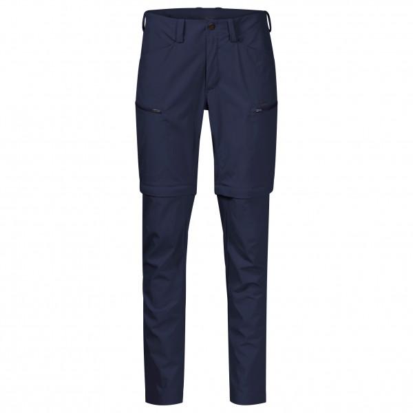 Bergans - Womens Utne Zipoff Pants - Walking Trousers Size Xs  Black/blue