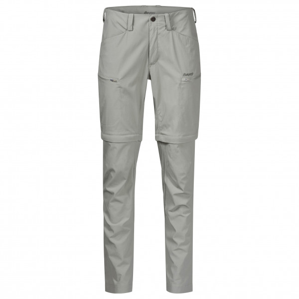 Bergans - Womens Utne Zipoff Pants - Walking Trousers Size Xs  Grey