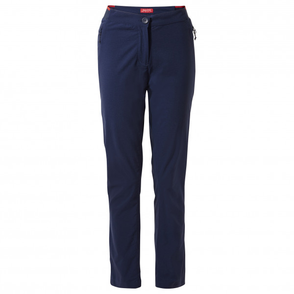 Craghoppers - Womens Nosilife Pro Active Trouser - Walking Trousers Size 48 - Regular  Black/blue