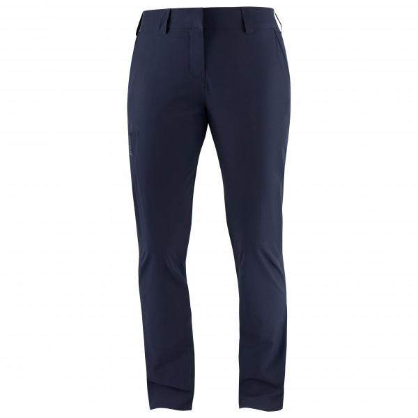 Salomon - Womens Wayfarer Pants - Walking Trousers Size 32 - Regular  Black/blue