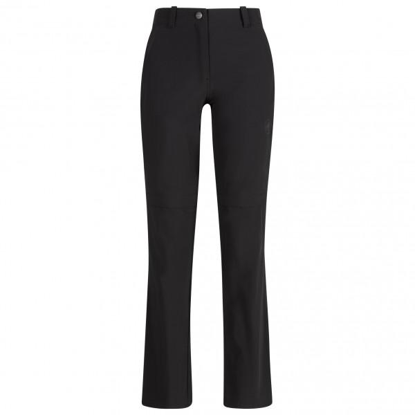 Mammut - Womens Runbold Zip Off Pants - Walking Trousers Size 34 - Regular  Black