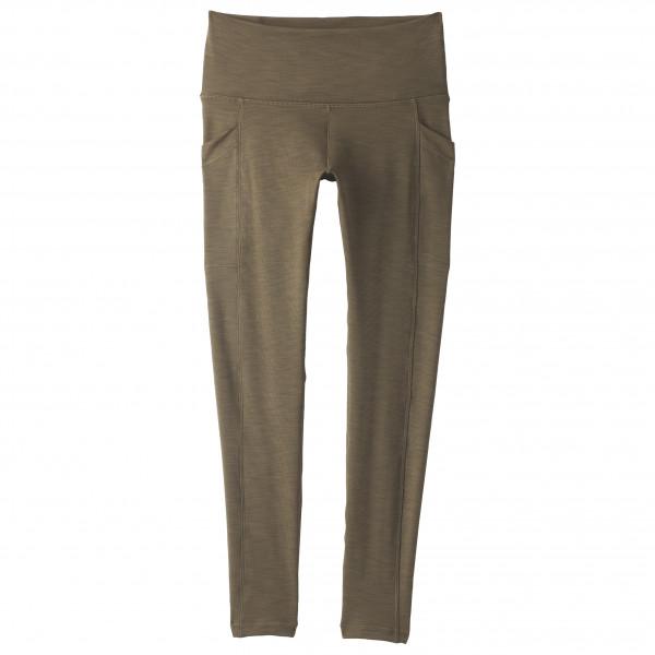 Prana - Womens Becksa 7/8 Legging - Leggings Size Xl  Brown/olive