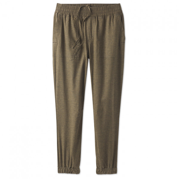 Prana - Womens Mantra Jogger - Casual Trousers Size Xs  Brown/olive/grey