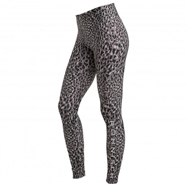 #Röhnisch – Women's Flattering Printed Tights – Leggings Gr XXL grau/schwarz#