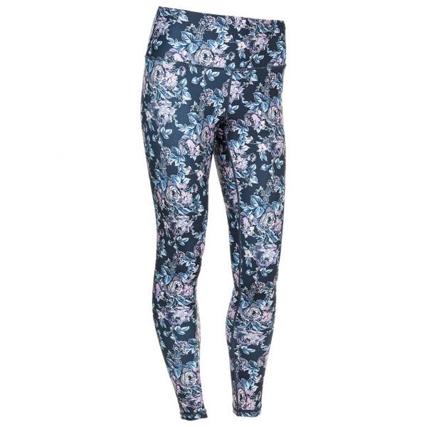 Athlecia - Womens Franzine Printed Tights - Leggings Size 44  Grey/blue