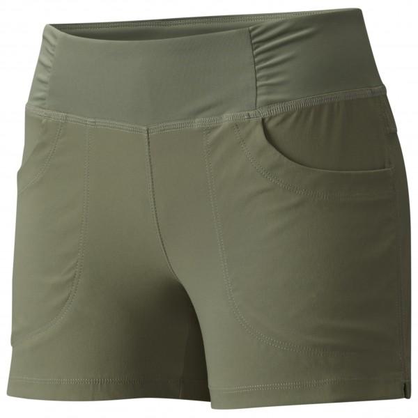 Mountain Hardwear - Women's Dynama Short - Shorts Gr L - Regular 4'' oliv/grau