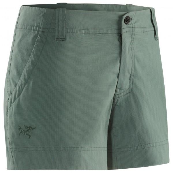 Arc´teryx - Women´s Camden Chino Short Shorts Gr 8 grau/oliv