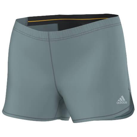 adidas Women´s Mountain Fly Short Loopshort maat 40 green