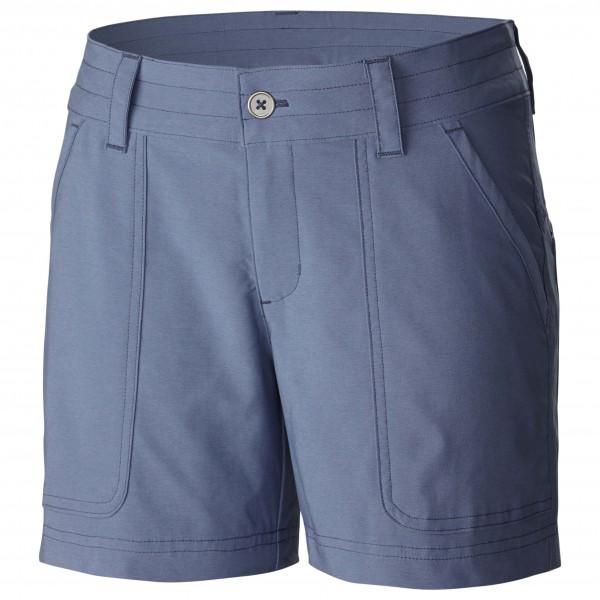 Columbia - Women´s Pilsner Peak Short Shorts Gr 8 Length: 5´´ grau/blau