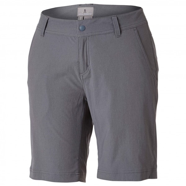 Frauendorf Angebote Royal Robbins - Women´s Alpine Road Short 9´´ Shorts Gr 4 grau/schwarz