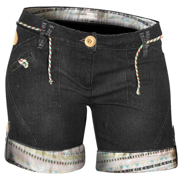 ABK - Women´s Calvi Short - Short taille L, noir/gris