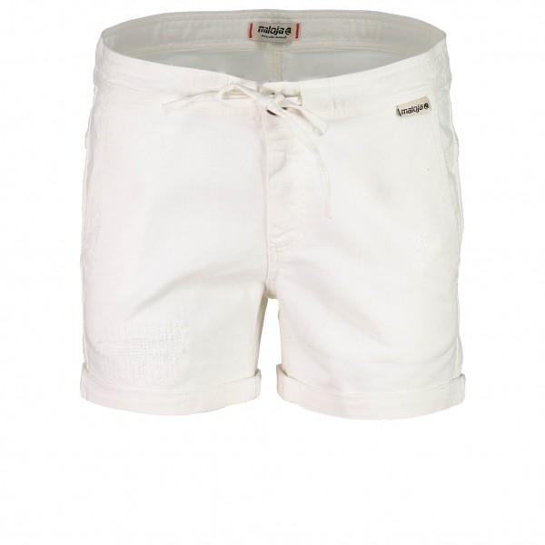 Maloja - Women´s ErminaM. Shorts Gr W27 weiß/grau jetztbilligerkaufen