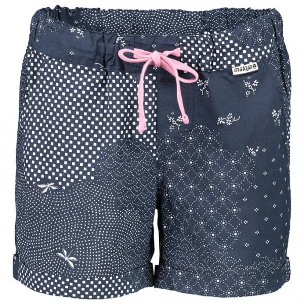 Maloja - Women´s SurlejM. Shorts Gr XS blau/grau jetztbilligerkaufen