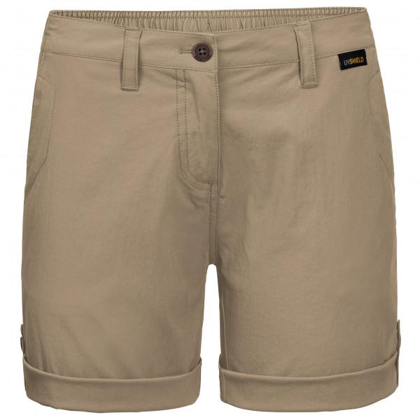 Jack Wolfskin - Womens Desert Shorts - Shorts Size 34  Grey/sand