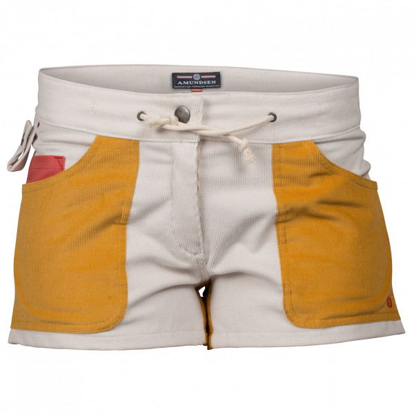 Amundsen Sports - Women´s 3 Incher Concords - Shorts Gr L grau/orange Preisvergleich