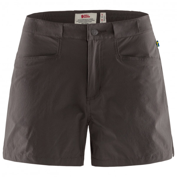 *Fjällräven – Women's High Coast Lite Shorts – Shorts Gr 44 schwarz/grau*