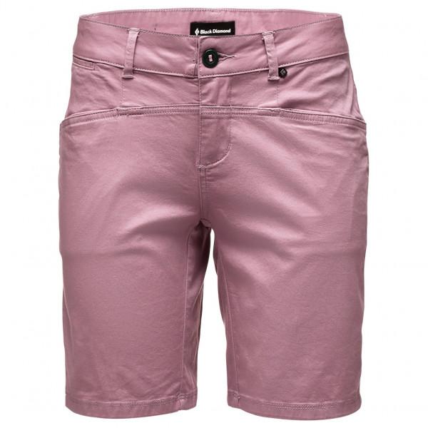 Black Diamond - Womens Radha Shorts - Shorts Size 6  Grey/pink