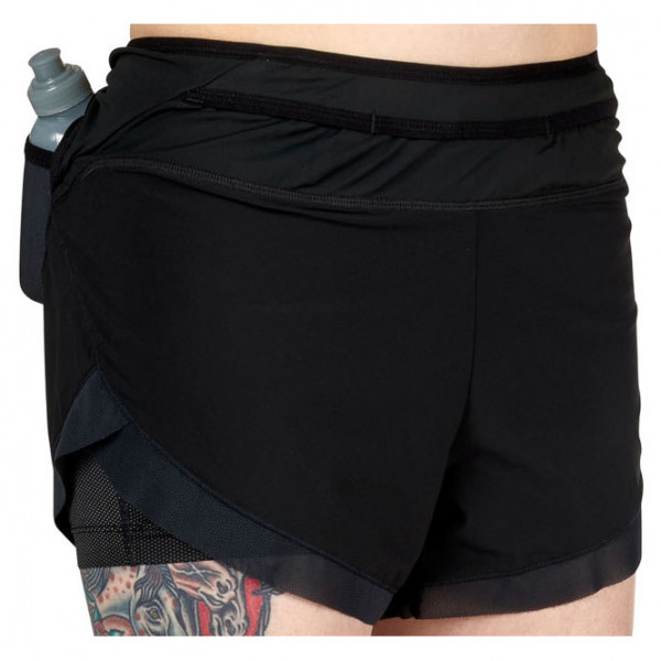 Ultimate Direction - Womens Hydro Short - Running Shorts Size L  Black