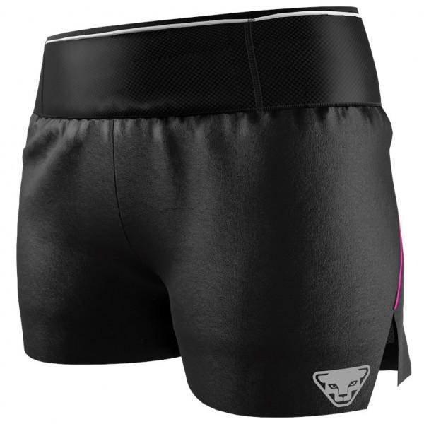 Dynafit - Womens Dna 2/1 Split Shorts - Running Shorts Size L  Black