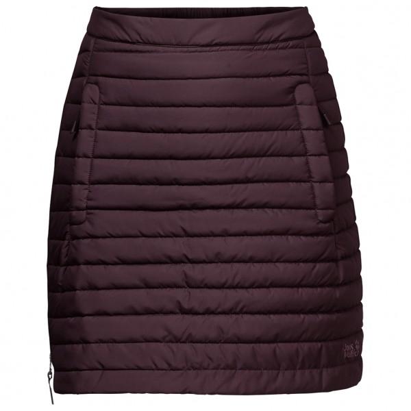 Jack Wolfskin Women´s Iceguard Skirt Synthetische rok maat XL zwart-purper
