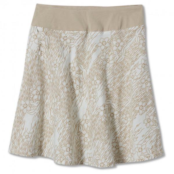royal robbins - women's cool mesh eco skirt ii - rok maat m, grijs