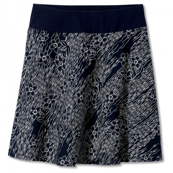royal robbins - women's cool mesh eco skirt ii - rok maat m, zwart/grijs