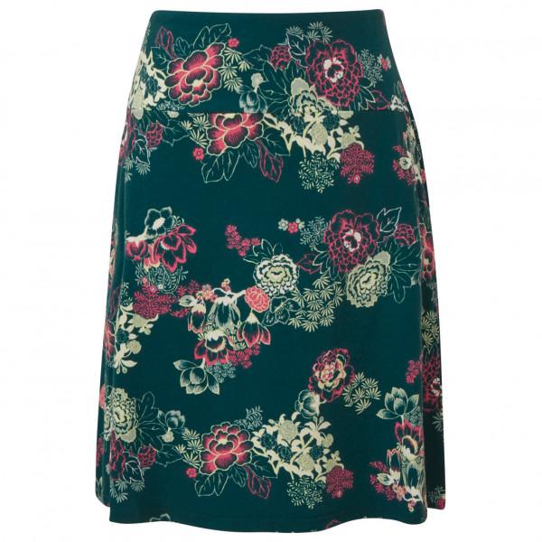 #Sherpa – Women's Padma Pull-On Skirt – Rock Gr S schwarz/türkis#