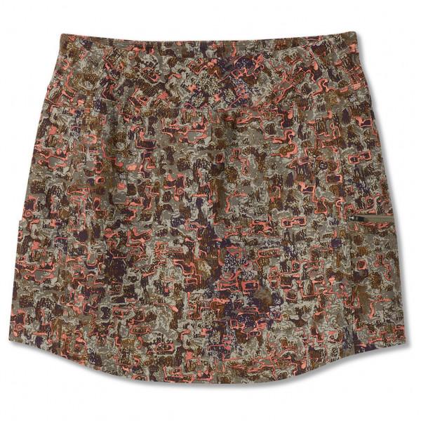 royal robbins - women's jammer knit skort ii - skort maat xs, bruin/grijs
