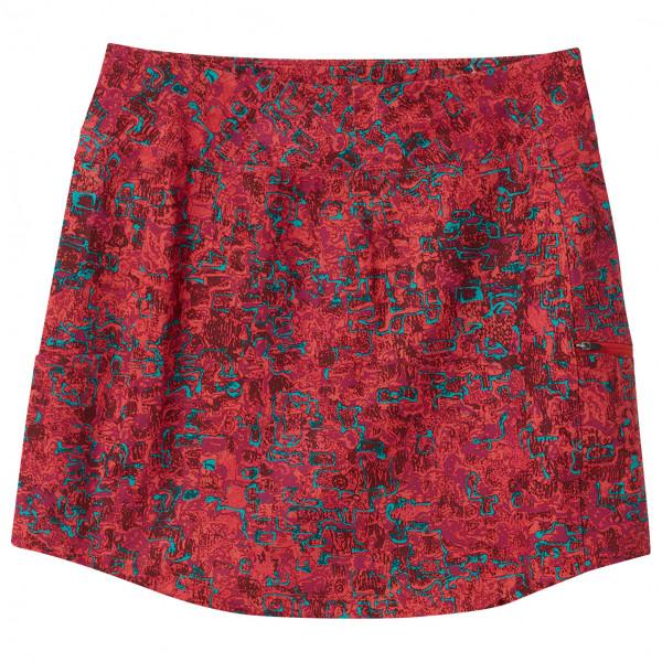royal robbins - women's jammer knit skort ii - skort maat xs, rood/roze