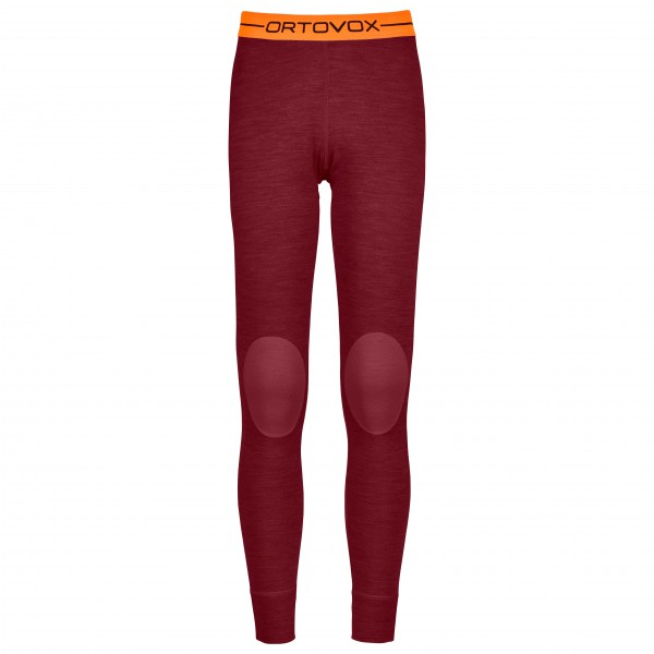 Ortovox - Women´s R ´N´ W Long Pants - Caleçon long taille L, rouge