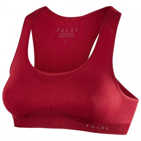 Falke - Women's Bra Top Madison Low Support - Sport-BH Gr S rot