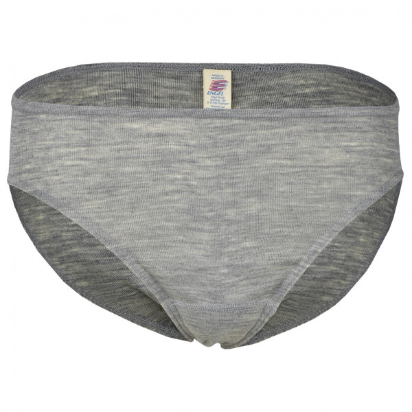 Engel - Damen Bikini Slip - Merinounterwäsche Gr 42/44 grau 701310-091-4244