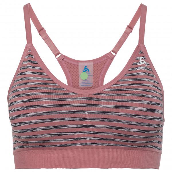 Odlo Women`s Sports Bra Padded Seamless Soft Reggiseno sportivo (XS, fuchsia/grigio)