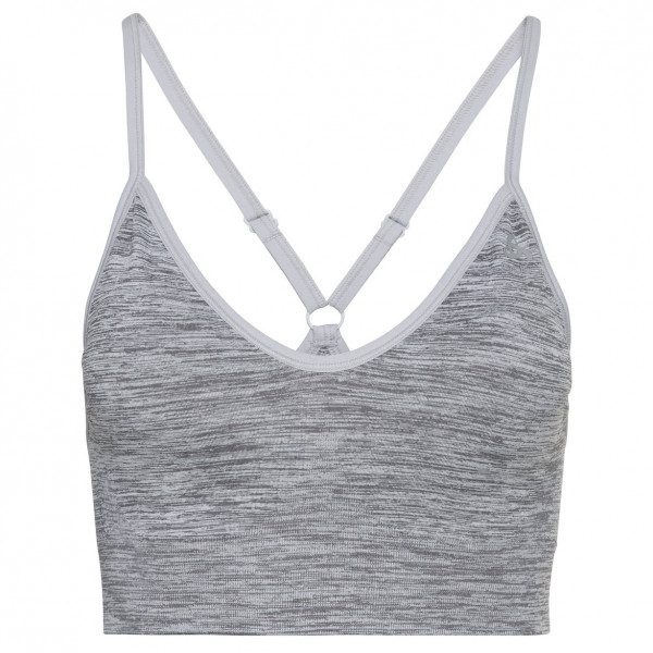 Odlo - Womens Sports Bra Padded Seamless Soft 2.0 - Sports Bra Size Xs  Grey