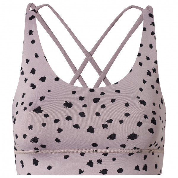 Hey Honey - Women's Criss-Cross Bra Dots - Sport-BH Gr L;M;S;XL;XS grau;blau CB