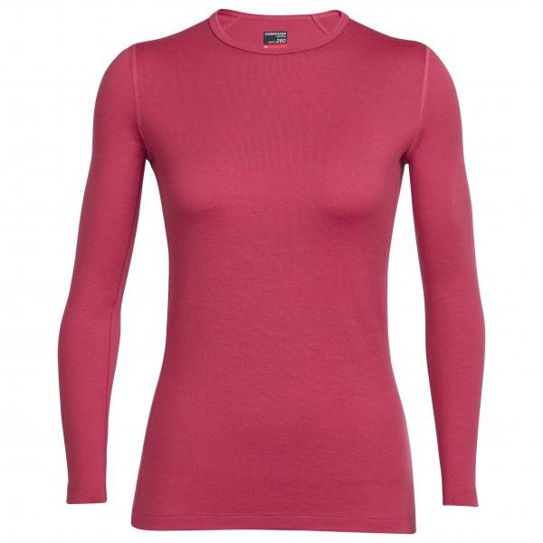 Icebreaker Tech Top LS Crewe- Langarmshirt Women (Größe: S) jetztbilligerkaufen