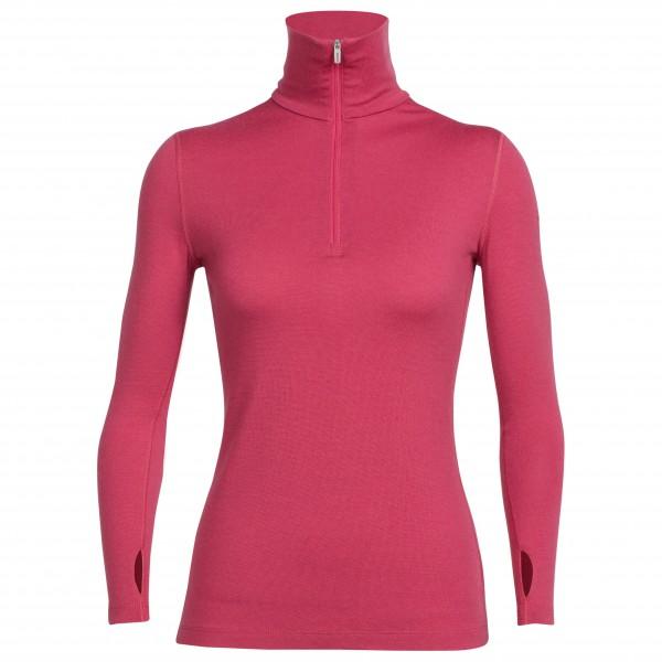 Icebreaker Tech Top LS Halp Zip - Langarmshirt Women (Größe: S) jetztbilligerkaufen