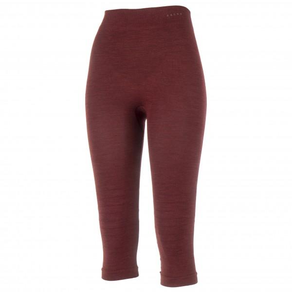 Falke - Women's Wool-Tech 3/4 Tights - Merinounterwäsche Gr M rot