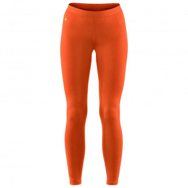 #Fjällräven – Women's Bergtagen Thinwool Long Johns – Merinounterwäsche Gr M rot/orange#