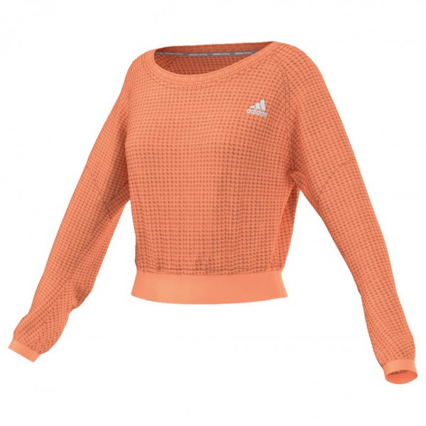 Women´s Cozy Pullover - Laufshirt Gr XL orange