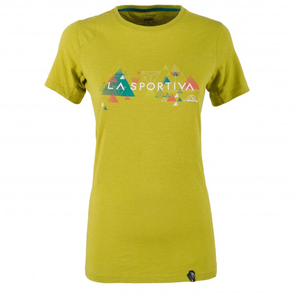 La Sportiva - Women´s Vertriangle T-Shirt Gr L;M;S;XL;XS gelb;türkis;grau/weiß;rot/rosa