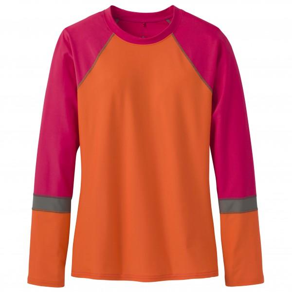 Prana - Women's Lorelei Sun Top - Longsleeve Gr M orange/rot/rosa