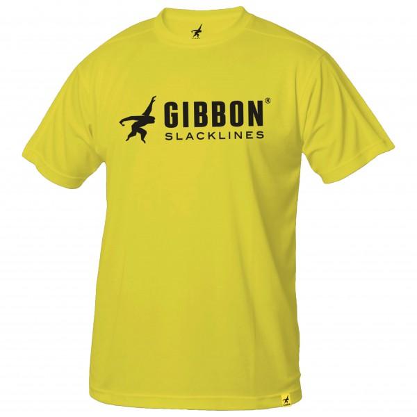 Gibbon Slacklines - Shirts Girls T-Shirt Gr M gelb - broschei