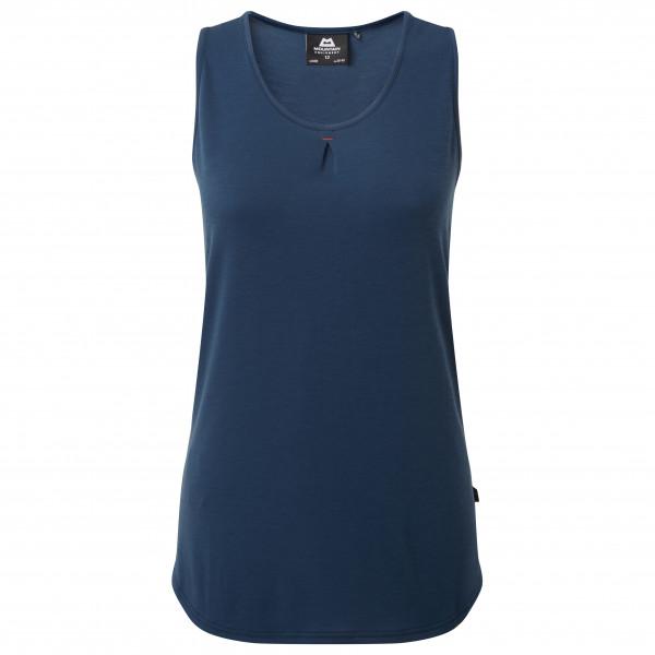 Mountain Equipment - Womens Equinox Vest - Tank Top Size 8  Blue
