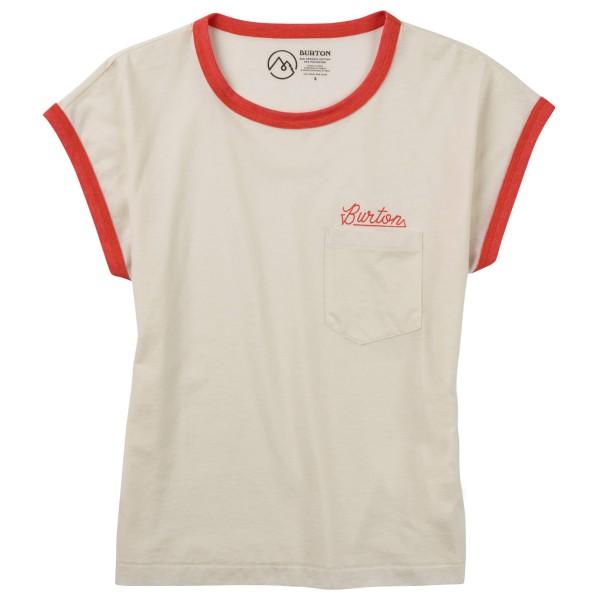 Burton - Women´s Embrace The Surreal S/S Tee T-Shirt Gr L weiß Sale Angebote Cottbus