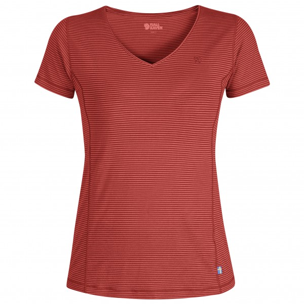 Fjllrven - Womens Abisko Cool - T-shirt Size Xxs  Red/pink