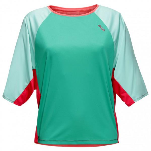 Pyua - Women´s Kite S Yogashirt Gr S;XS rot/rosa;türkis